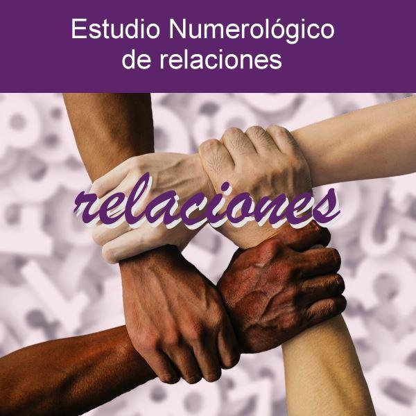 Estudio numerológico de relaciones