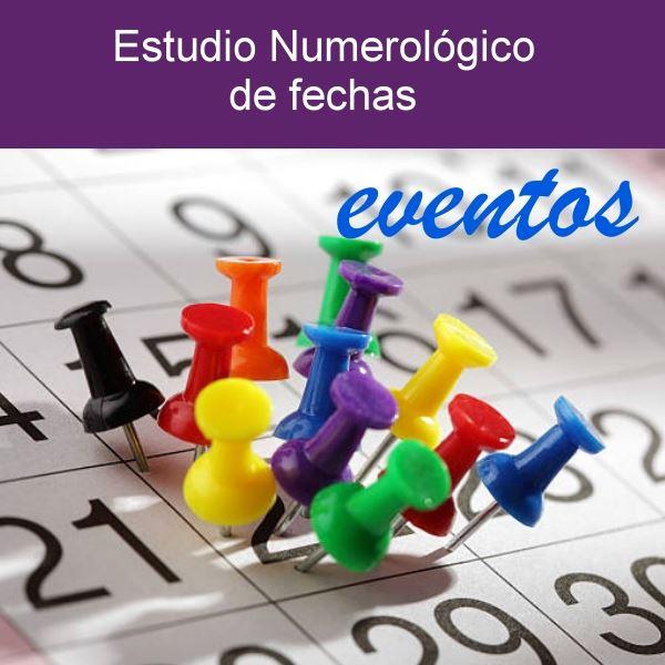 Estudio numerológico de fechas