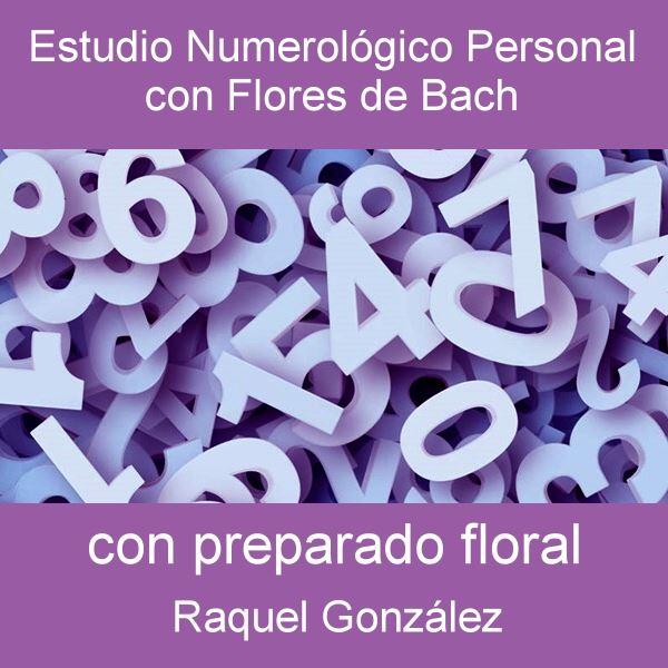 Estudio numerológico personal con flores de Bach