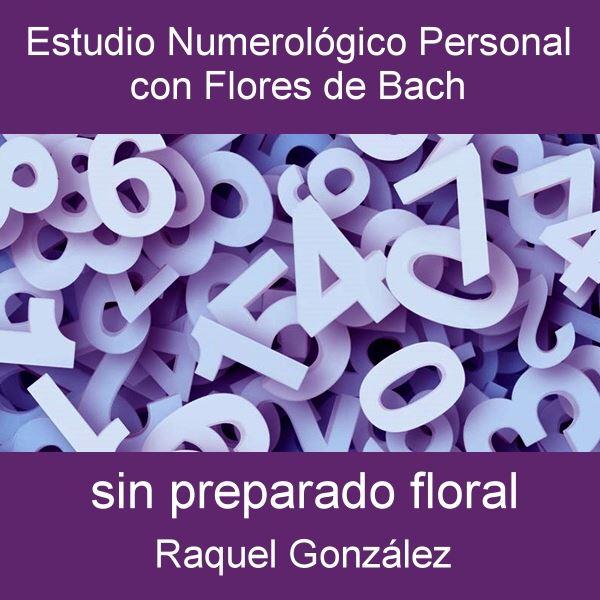 Estudio Numerológico personal sin preparado floral