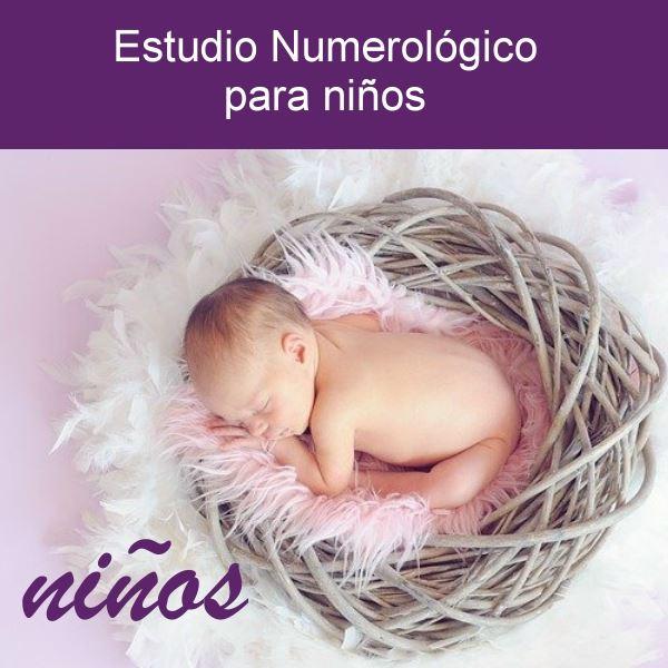 Estudio numerológico de niños