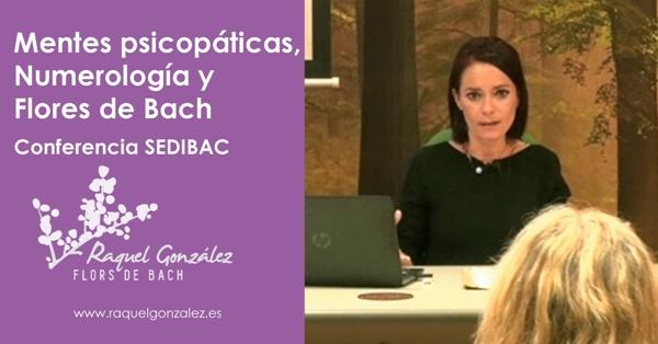 Conferencia de Flores de Bach y Numerología SEDIBAC